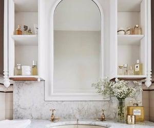 bathroom, home, and Nude image