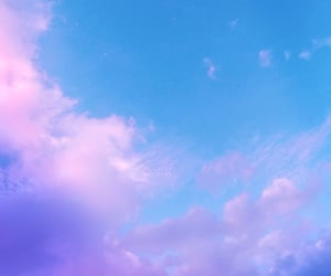 blue, clouds, and dreamy image
