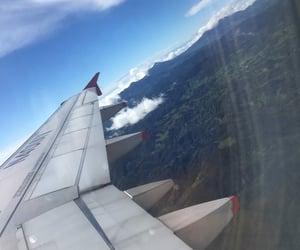 airplane, viajes, and viajar image