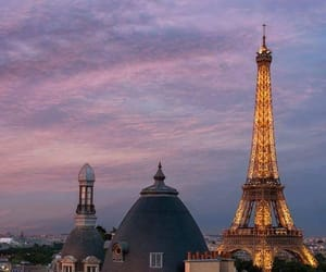 paris, architecture, and citylights image