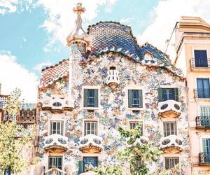adventure, architecture, and Barcelona image