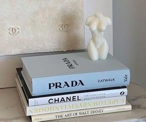 Prada, chanel, and book image
