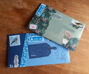 creative, Letter, and envelop image