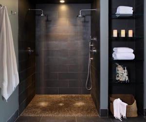 bathroom, house, and interior image