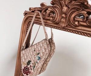 mirror, bag, and dior image