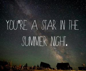 stars, quote, and love image