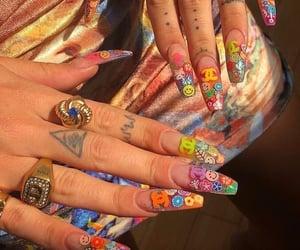 nails, tumblr, and art image