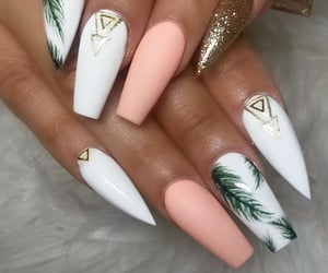 art, pretty, and nails image