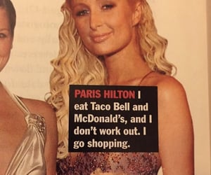 00s, 2000s, and paris hilton image
