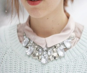 fashion, collar, and necklace image