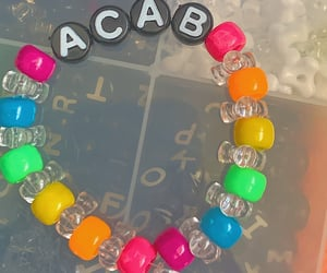 aesthetic, bracelet, and letters image