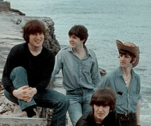 aesthetic, retro, and the beatles image