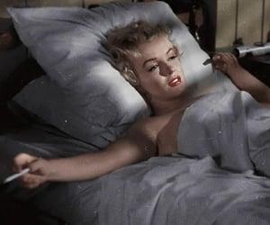 Marilyn Monroe, gif, and vintage image