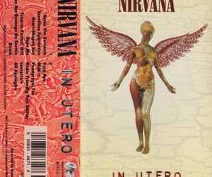 nirvana, in utero, and 90s image