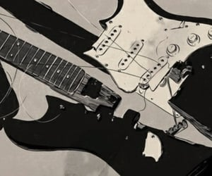 guitar and broken image