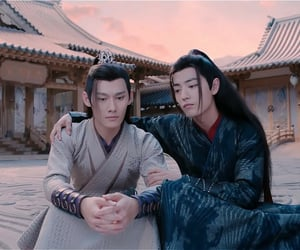 chinese drama, the untamed, and xiao zhan image