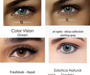 contact lenses, colored contact lenses, and bella lenses image