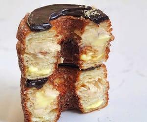 chocolate, croissant, and custard image