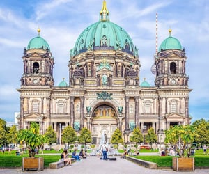 architecture, berlin, and germany image