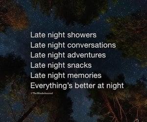 night, late night drives, and night travel image
