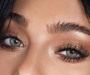 eyebrows, eyeliner, and eyeshdow image
