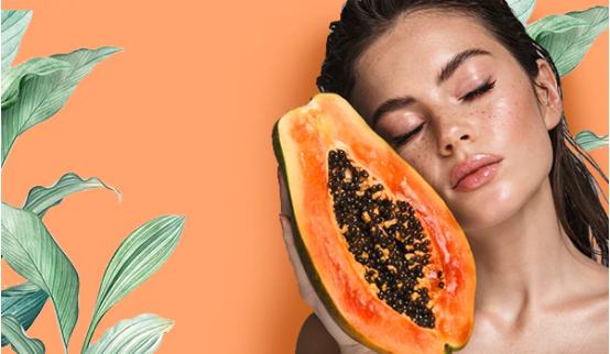 article, diy face mask, and papaya face mask image