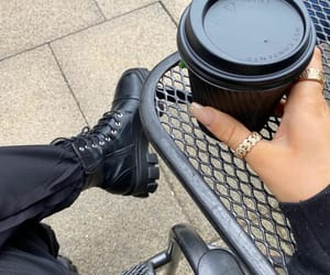 blogger, chanel, and coffee image