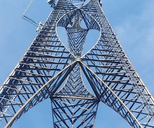 cellphone, tower, and working image