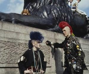 hair, punks, and punk image