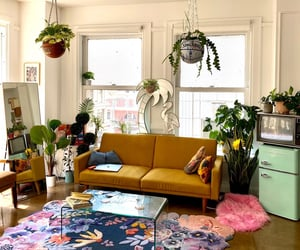 colorful, design, and living room image