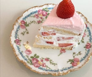 cake, aesthetic, and dessert image