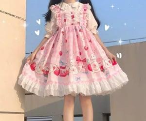 aesthetic, dress, and Harajuku image