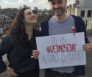 celebrity, katie mcgrath, and red nose day image