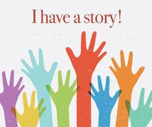 communication, share, and storyteller image