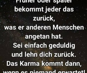 deutsch, spruch, and karma image