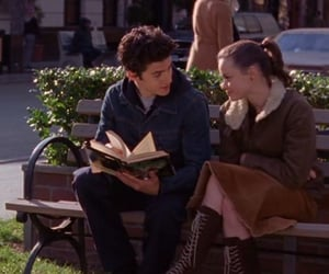 rory gilmore, rory and jess, and gilmore girls image