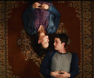 drama, 13 reasons why, and tv couple image