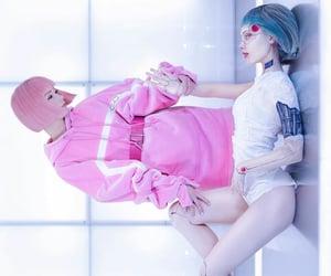 cyborg, fantasy, and futuristic image