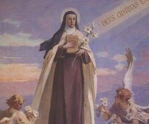 angels, catholicism, and teresa image