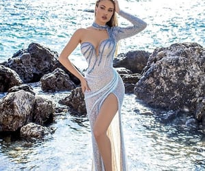 classy, dress, and glamour image