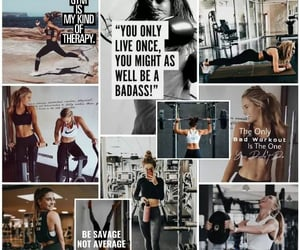 exercise, healthy, and inspiration image
