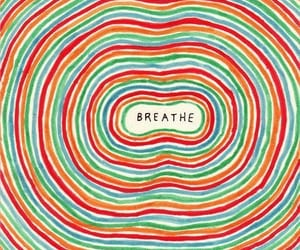 breathe, art, and quotes image