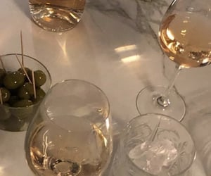 glasses, lifestyle, and wine image