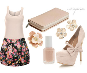 fashion, bow, and floral image