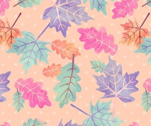 leaves and wallpaper image