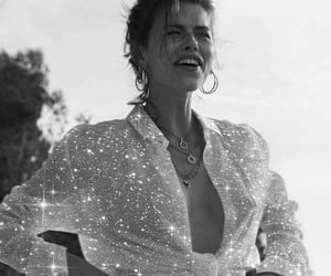 black and white, fashion, and glitter image
