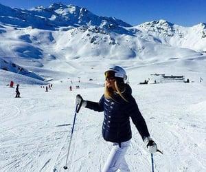 ski, snow, and winter image