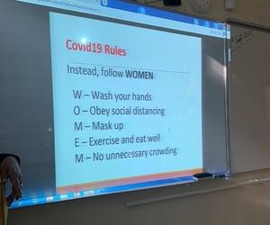 corona, meme, and rules image