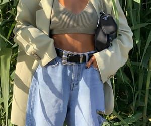blogger, outfit, and oversized blazer image