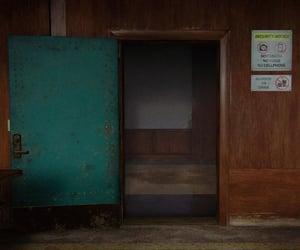 abandoned, open, and door image